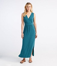 Summer Knit Maxi Dress, Paisley Print