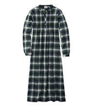 Scotch Plaid Flannel Nightgown