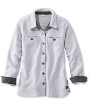 Berber Fleece, Button-Front Shirt Jacket