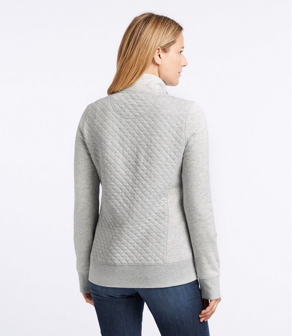 hot sale online 3a0d7 d154f Women's Quilted Quarter-Zip Pullover