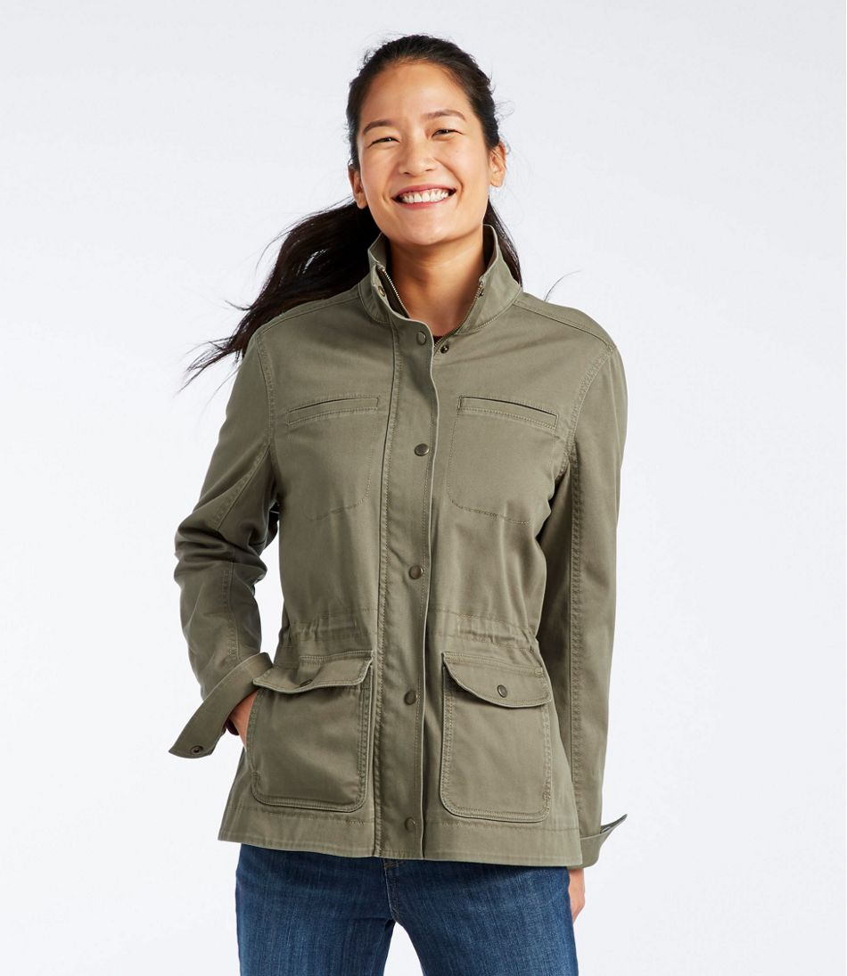 Classic Utility Jacket, Flannel-Lined