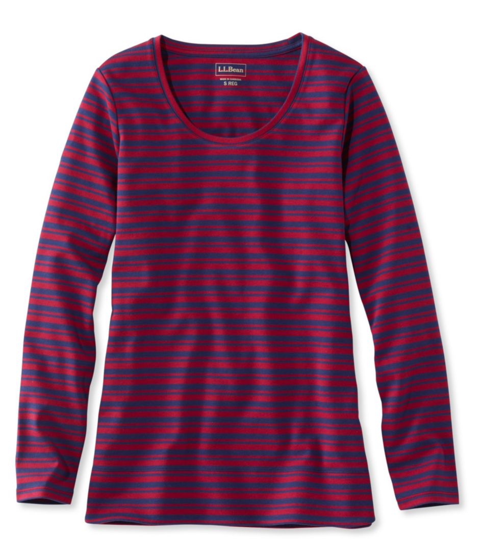 L.L.Bean Tunic, Long-Sleeve Stripe