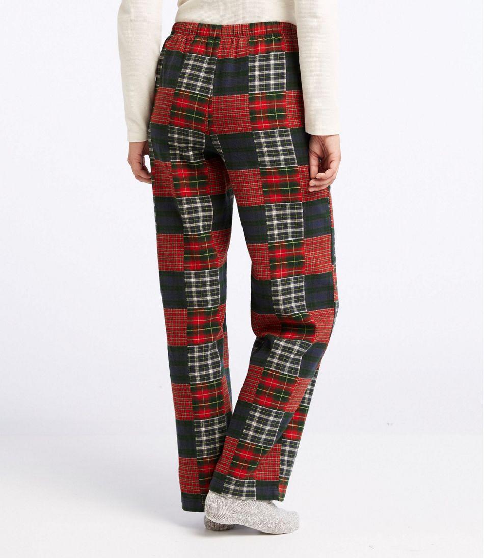 L.L.Bean Flannel Sleep Pants, Patchwork