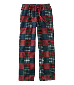 Women's L.L.Bean Flannel Sleep Pants, Patchwork