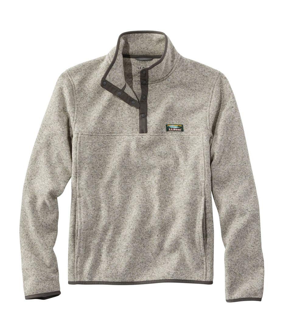 Men's L.L.Bean Sweater Fleece Pullover