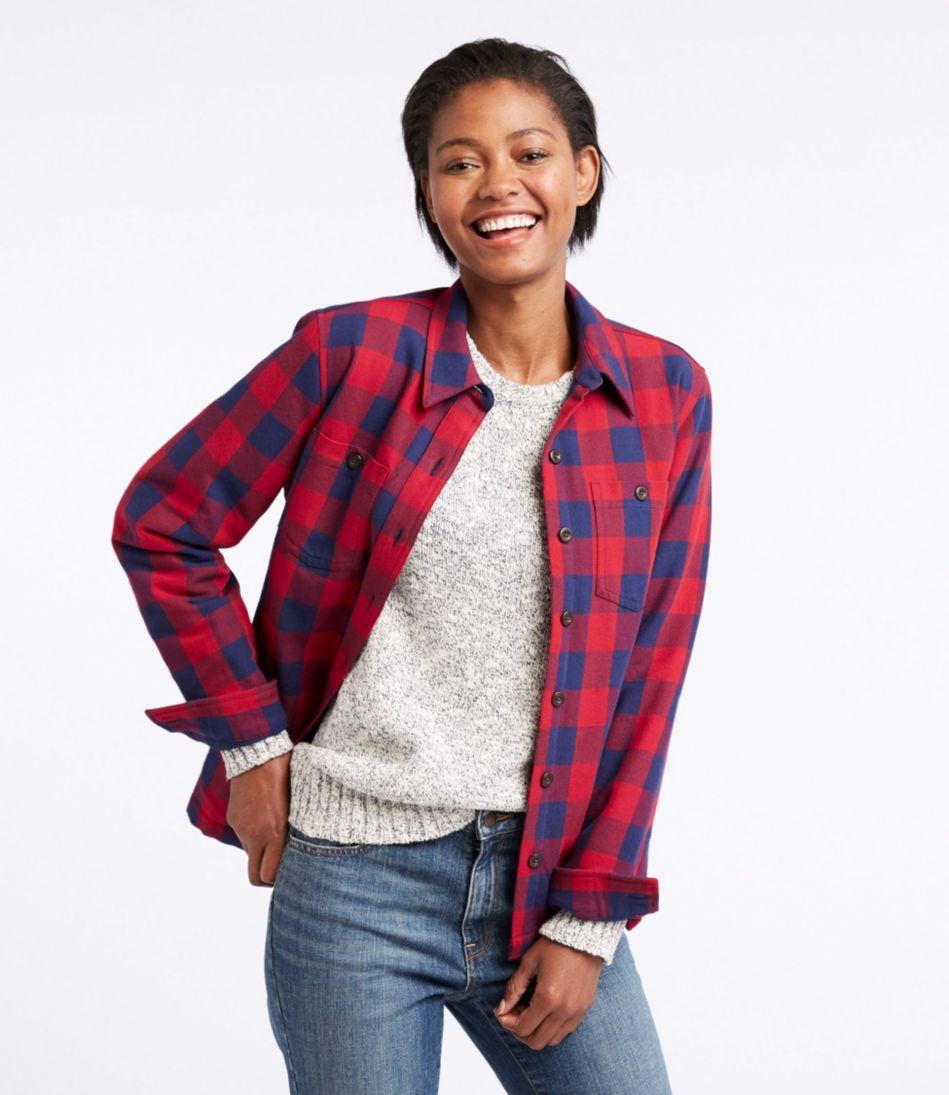 Women's PrimaLoft Lined Shirt-Jac, Plaid