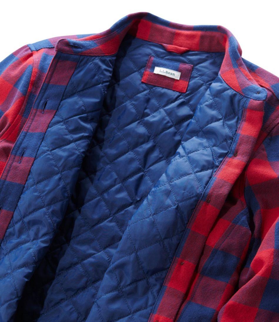 PrimaLoft Lined Shirt-Jac, Plaid