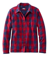 Women's PrimaLoft Lined Shirt-Jac, Plaid