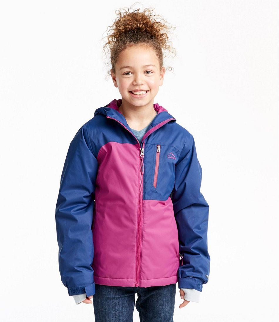 Girls' Wildcat Snow Jacket, Colorblock