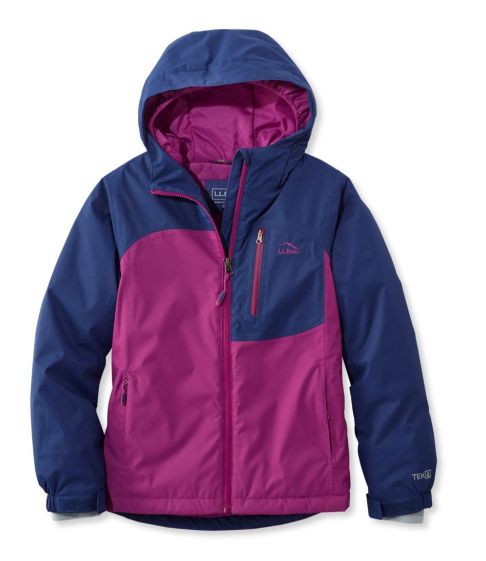 Girls' Wildcat Snow Jacket, Colorblock