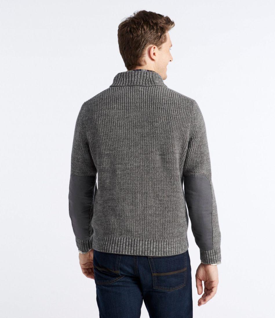 Blue Jean Sweater, Shawl Collar