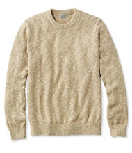 Cotton Ragg Sweater, Crewneck Slightly Fitted