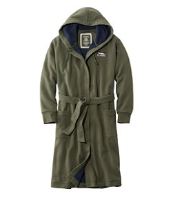 Men's Rugby Robe, Fleece-Lined