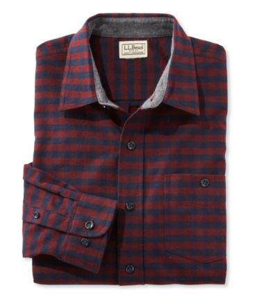 Three-Season Chamois Shirt, Slightly Fitted Plaid