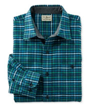 Men's Three-Season Chamois Shirt, Slightly Fitted Plaid