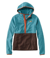 L.L.Bean Sweater Fleece Pullover Hoodie