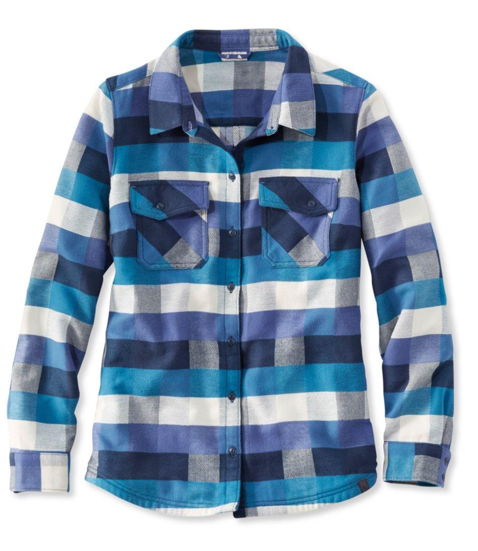 Rangeley Camp Performance Flannel Shirt, Check