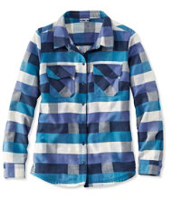 Rangeley Camp Performance Flannel Shirt, Check