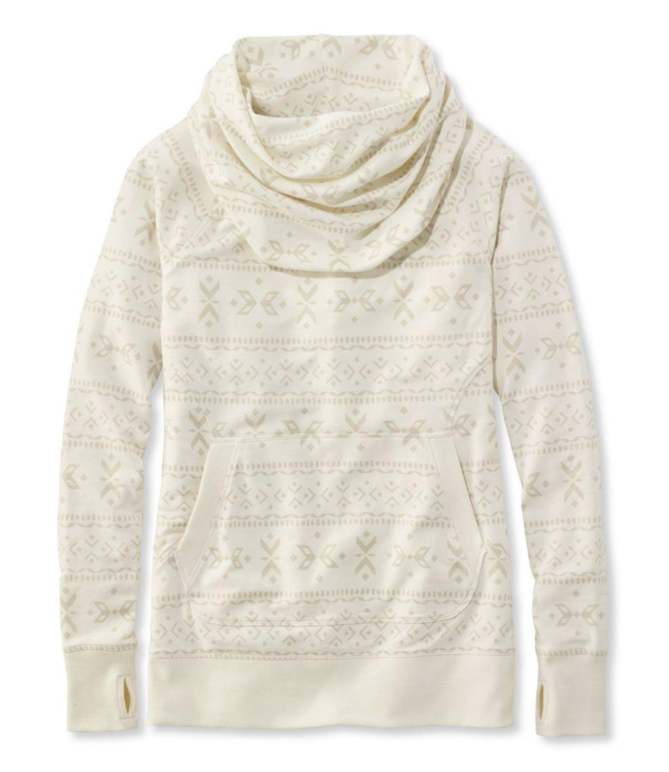 L.L.Bean's Cozy Pullover, Print