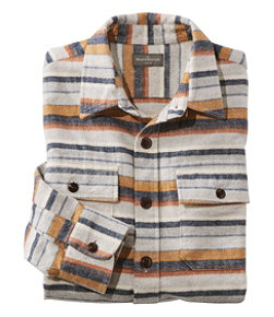 Signature 1933 Chamois Cloth Shirt, Slim Fit Stripe