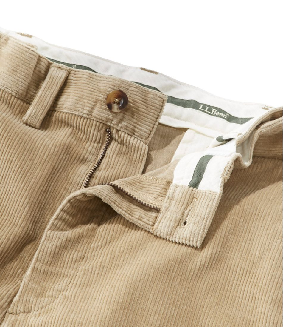 L.L.Bean Stretch Country Corduroy Pants, Natural Fit Hidden Comfort Waist