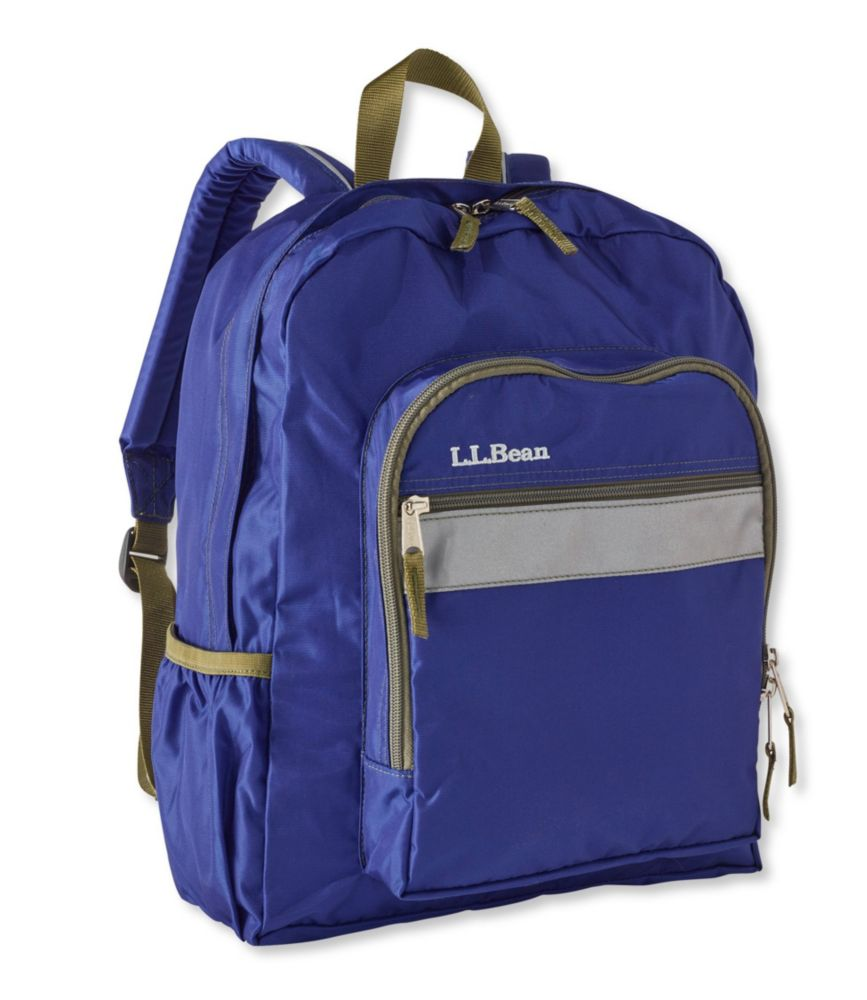 Pink ll bean backpack