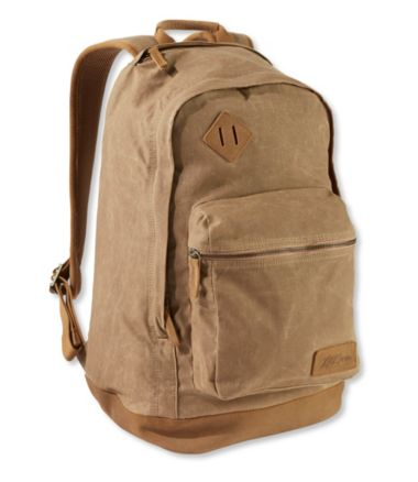 Classic Teardrop Waxed Canvas Backpack