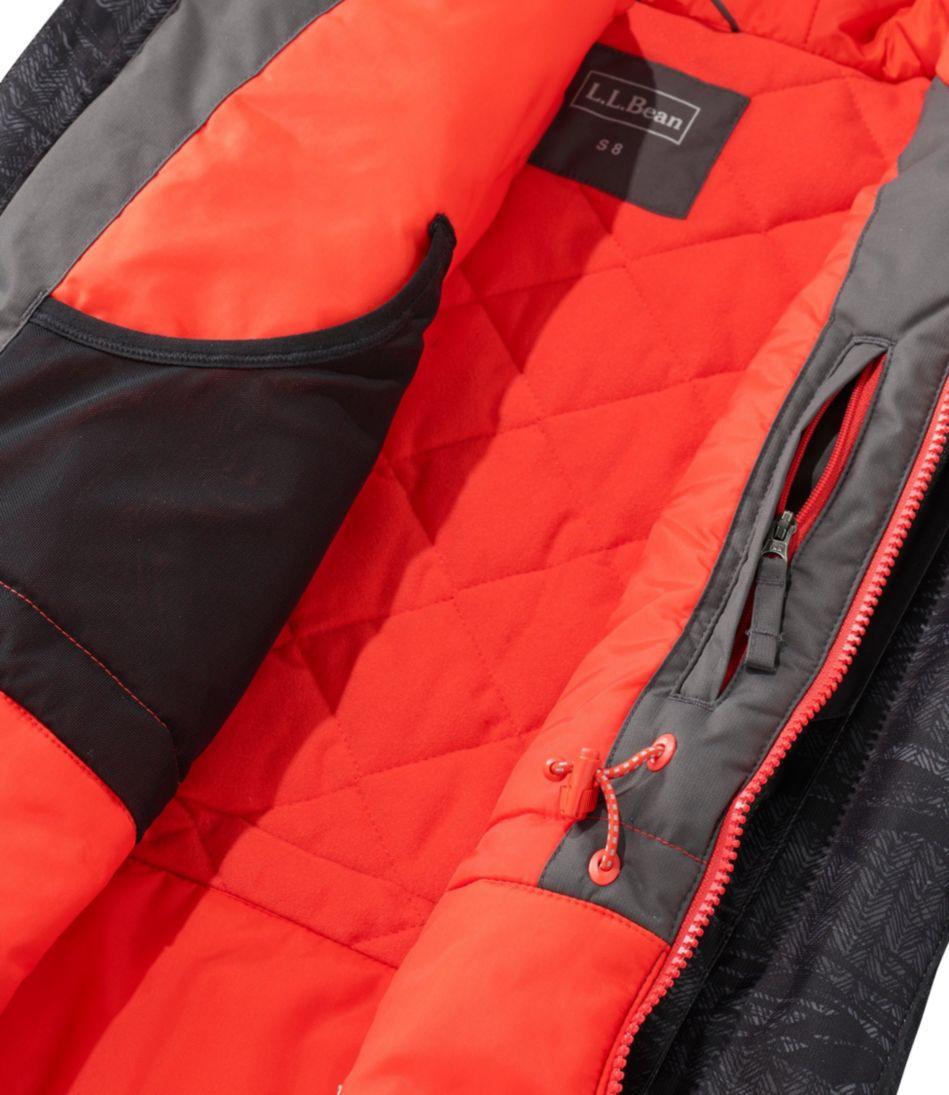 Boys' Wildcat Snow Jacket, Stripe