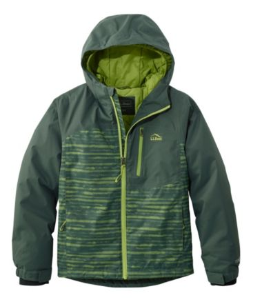 Boys' Wildcat Snow Jacket, Stripe