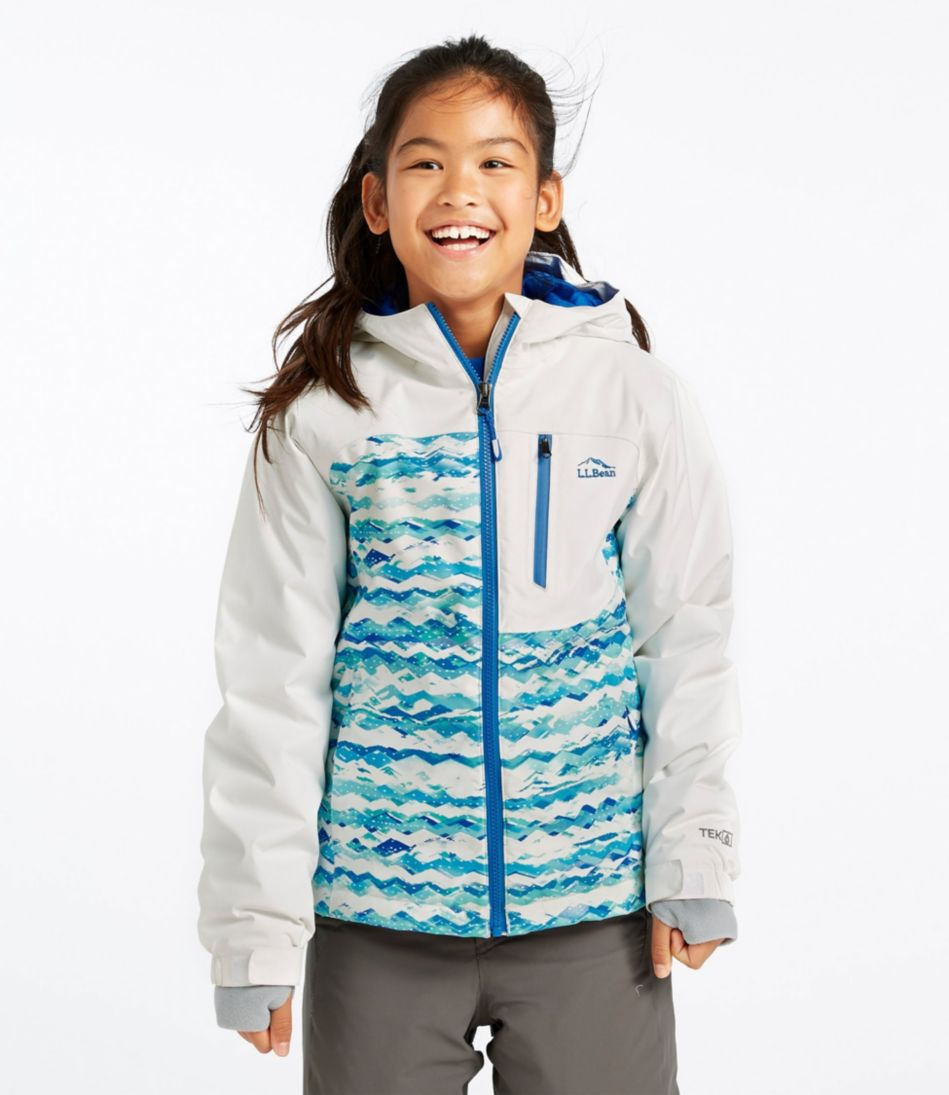 Girls' Wildcat Snow Jacket, Print