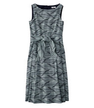 Women's Signature Poplin Dress, Print