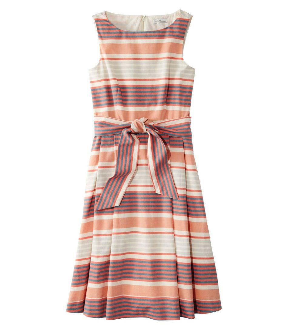 Signature Poplin Dress, Print