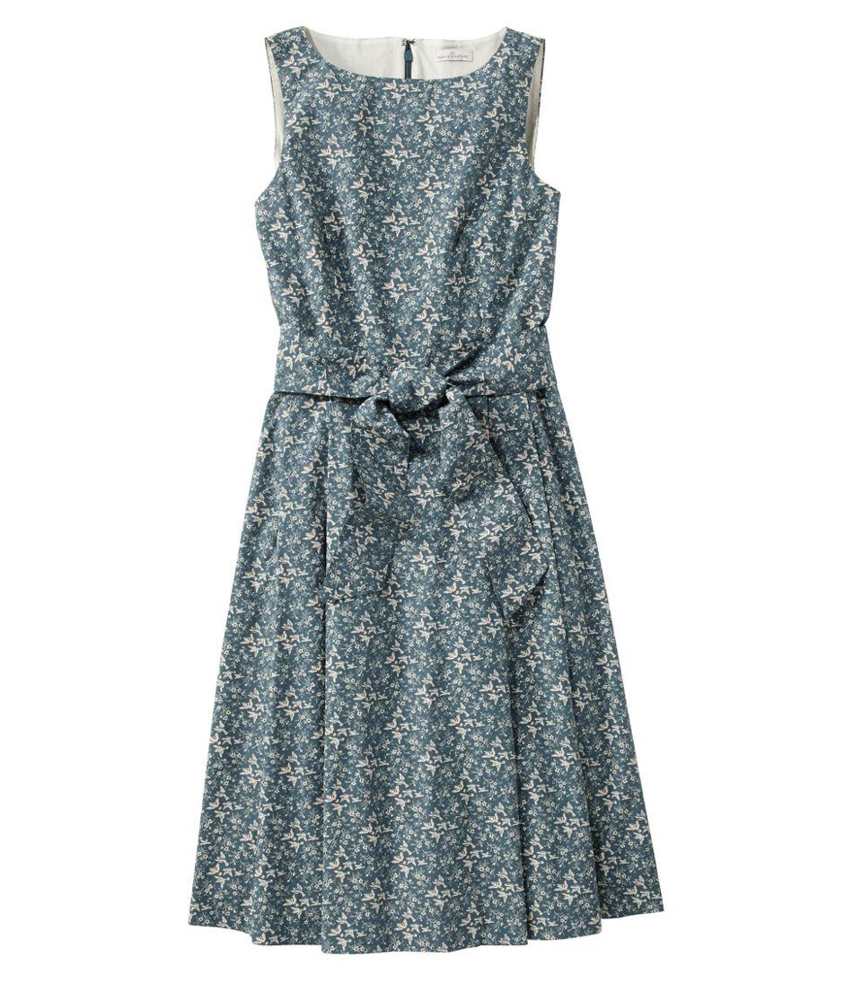 Women's Signature Poplin Dress, Print