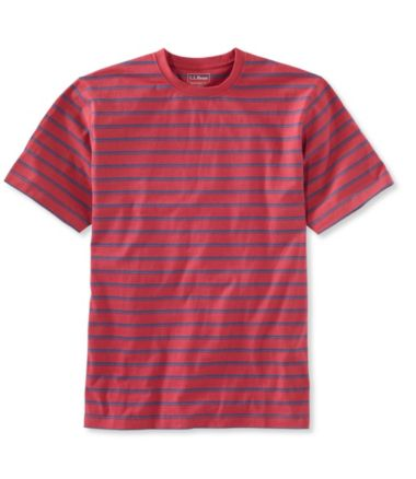 Carefree Unshrinkable Tee, Traditional Fit Stripe