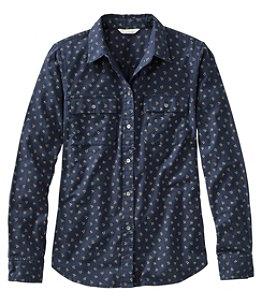 Women's Signature Lightweight Flannel Shirt, Print