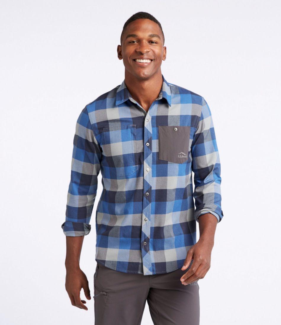 Break Trail Tech Flannel Shirt, Plaid