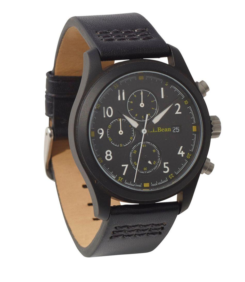 Chronograph Field Watch