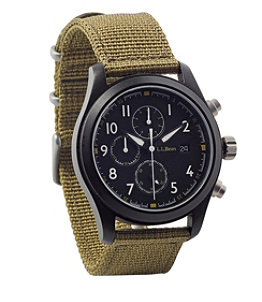 Adults' Chronograph Field Watch