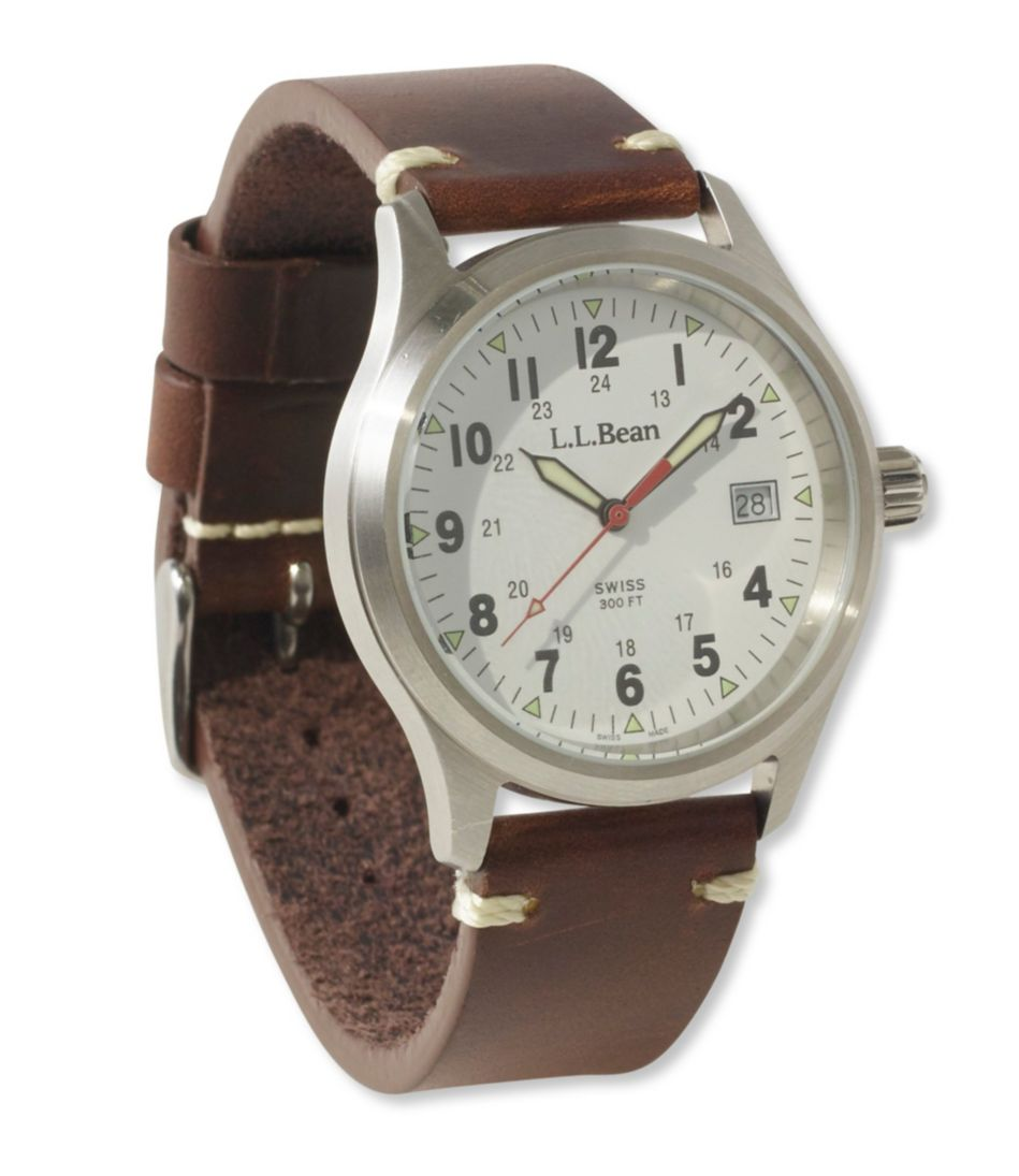 Vintage Field Watch, 38 mm Leather