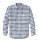 Men's Wrinkle-Free Classic Oxford Cloth Shirt, Slightly Fitted Tattersall