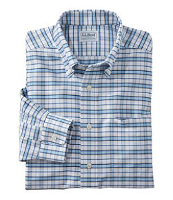 Wrinkle-Free Classic Oxford Cloth Shirt, Slightly Fitted Tattersall