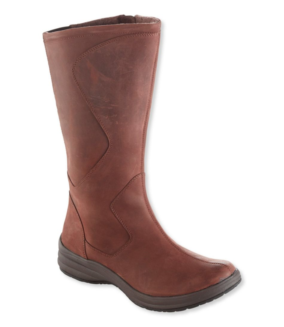 North Haven Leather Boots, Tall