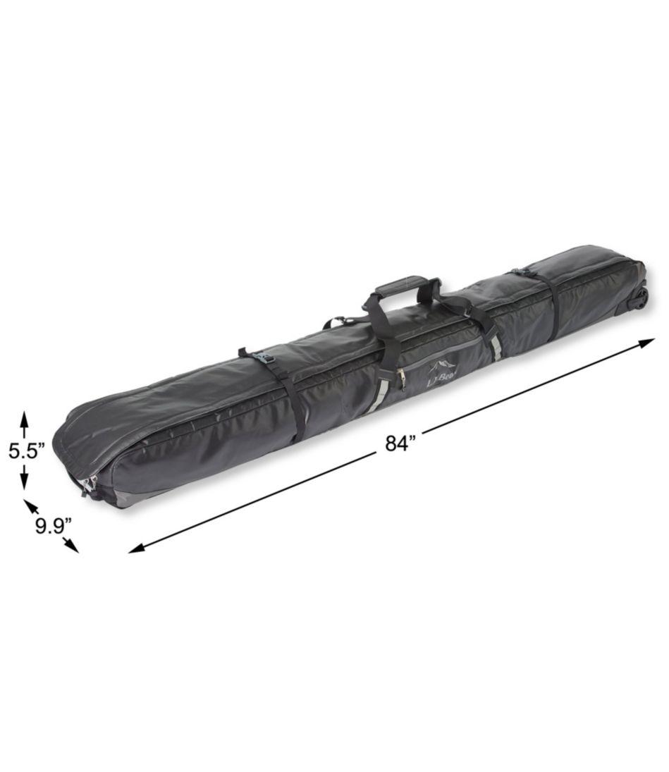 Adventure Pro Rolling Ski Bag, Double