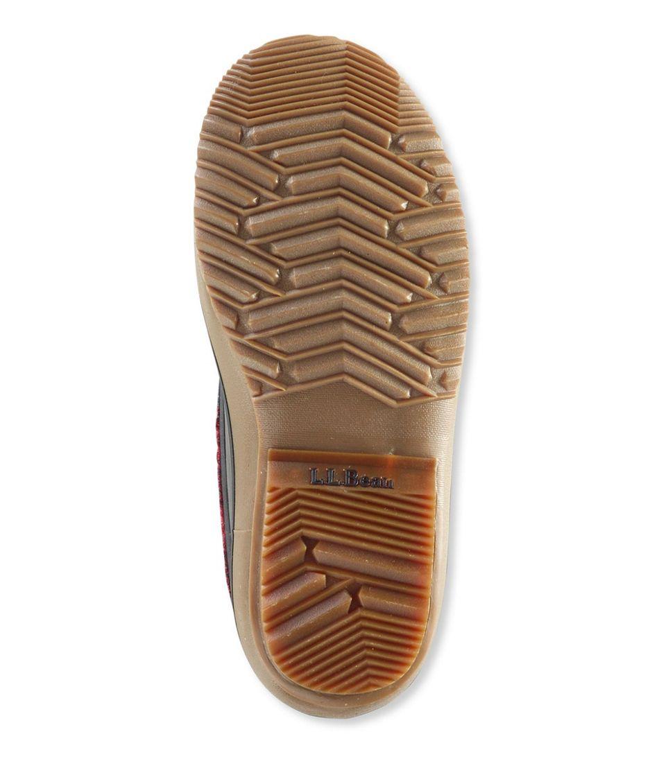 L.L.Bean Snow Boots, Lace-Up Print