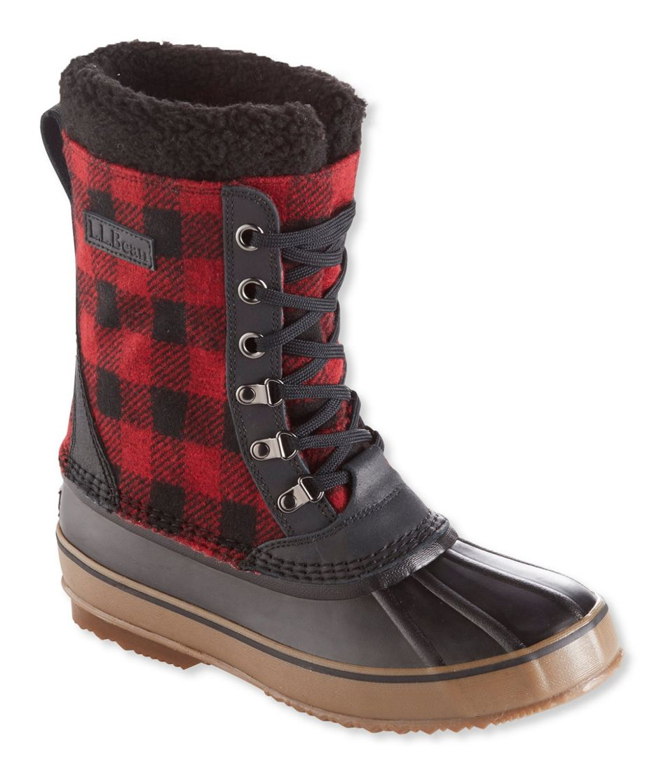 thoughts on many fashionable 100% authentic L.L.Bean Snow Boots, Lace-Up Print