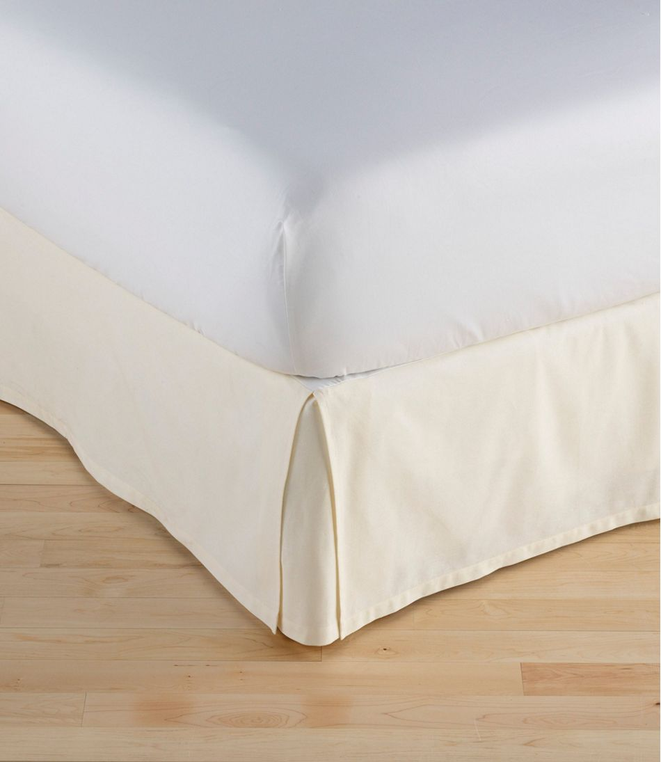Box Pleat Bed Skirt