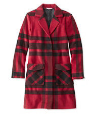 Signature Ashland Wool Coat, Plaid