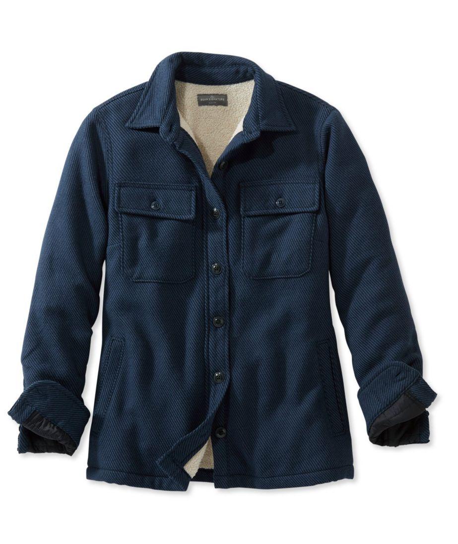 Signature Chamois Shirt Jacket
