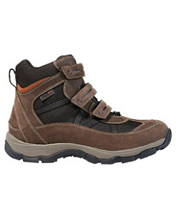 Men's Snow Sneakers with Arctic Grip, Mid Hook-and-Loop