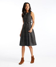 The Signature Flannel Dress, Print